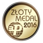 Złoty Medal MTP naMiędzynarodowych Targach Technologii iProduktów dla Zrównoważonego Rozwoju iUsług Komunalnych POL-ECO-SYSTEM